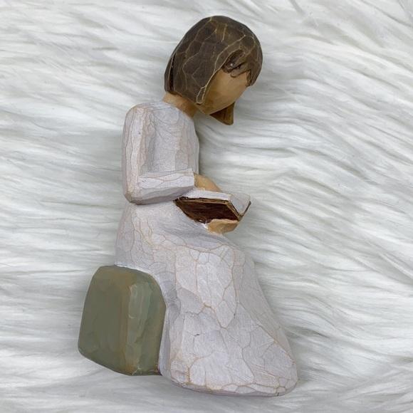 SOLD Willow Tree Wisdom Figurine Reading Sculpture